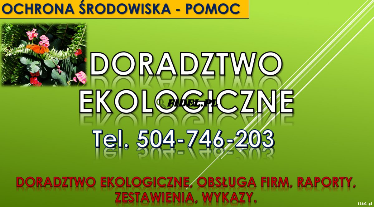 Doradztwo ekologiczne, tel. 504-746-203. Hałas, odór, fetor, przyrody, ekologia, odory