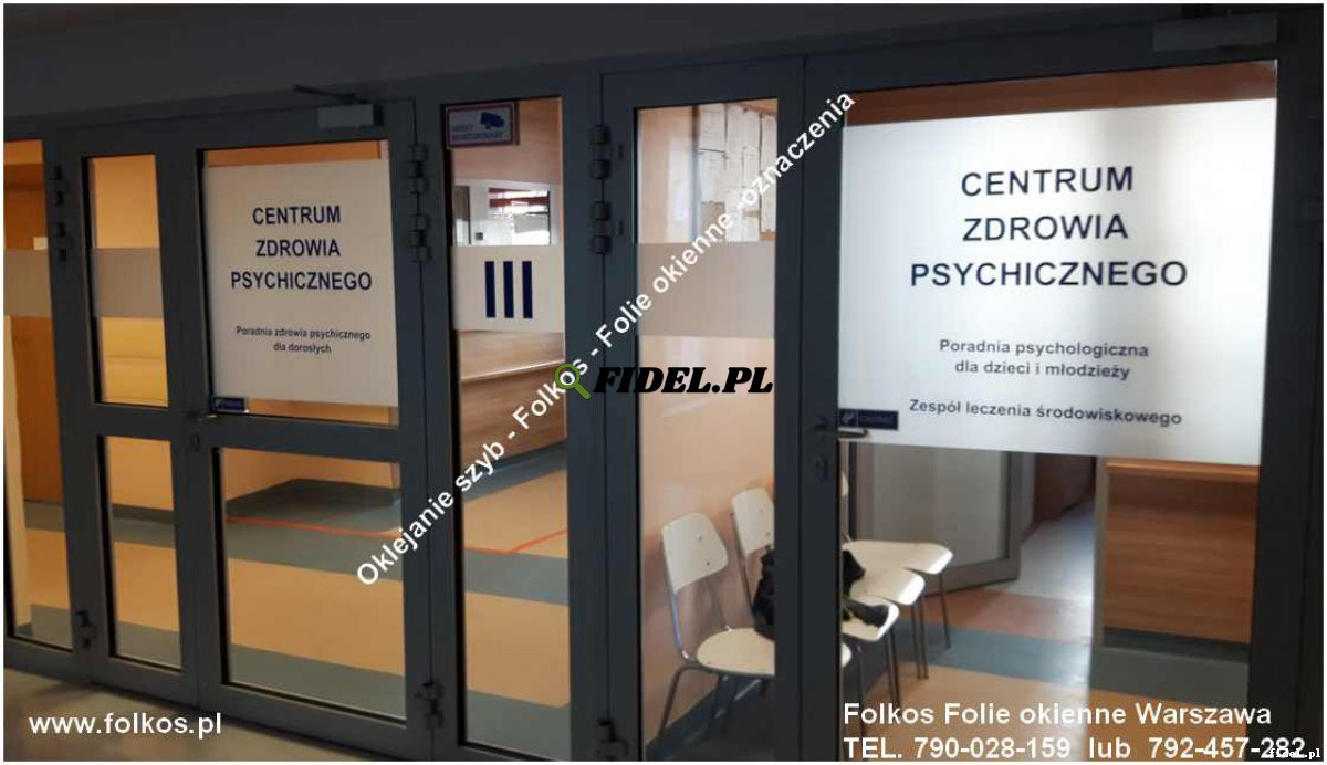 Folie okienne Radom - oklejanie przestrzeni biurowych - Folie do domu i biura Folkos Foliowanie szyb