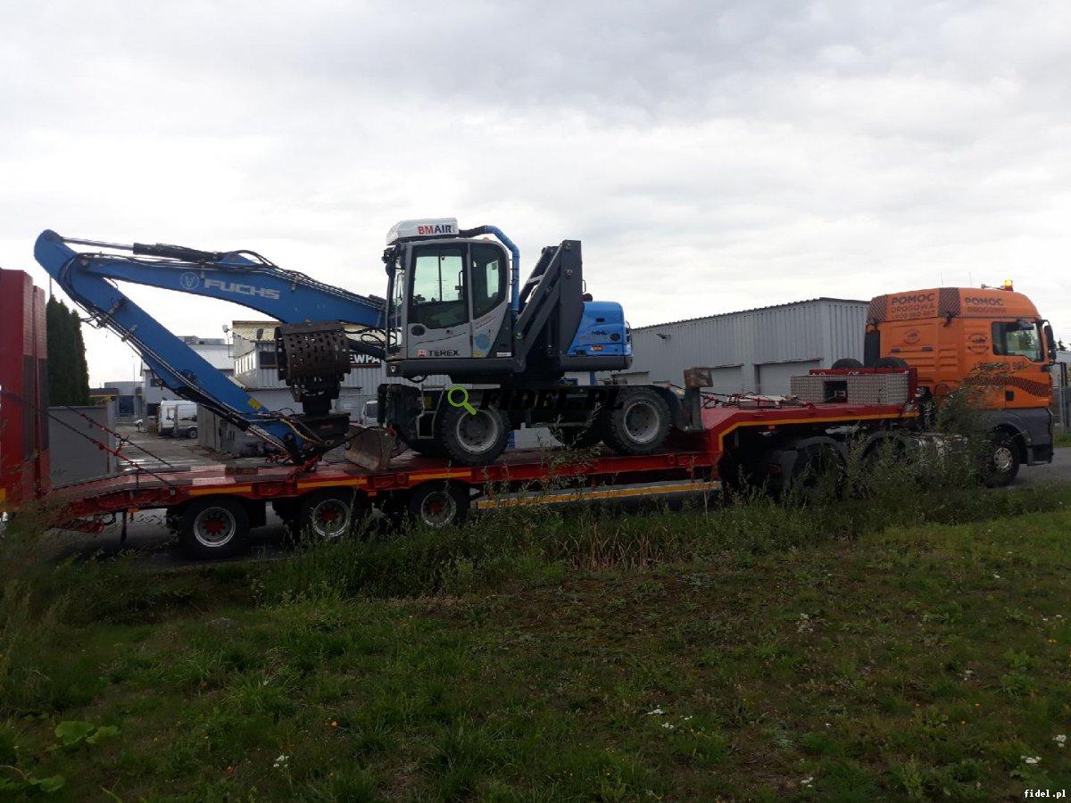Transport maszyn budowlanych, rolniczych, przemysłowych, koparek - Poznań