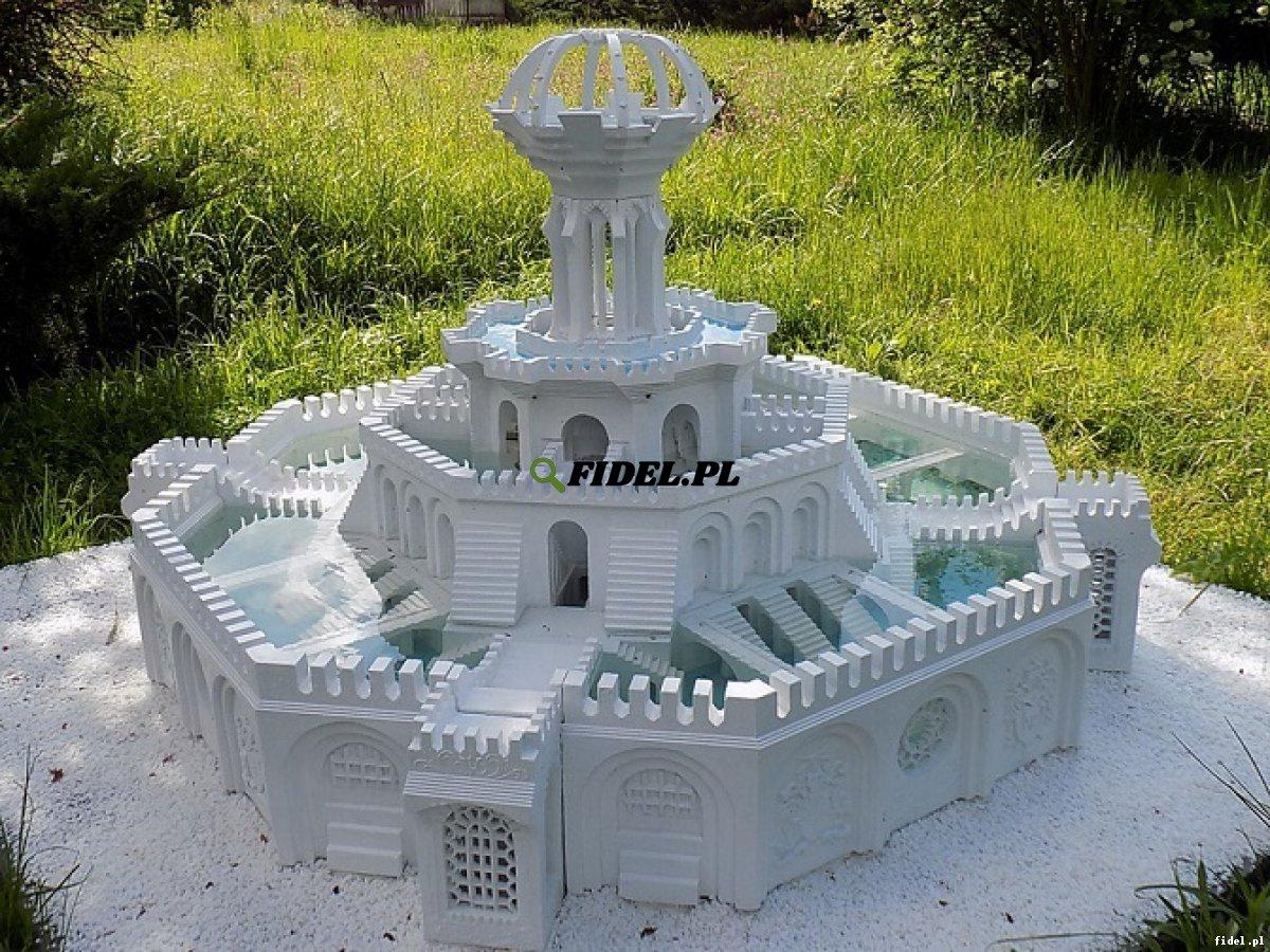 Za darmo - nowa technika budowy form 3d - fontanny ze świecami.