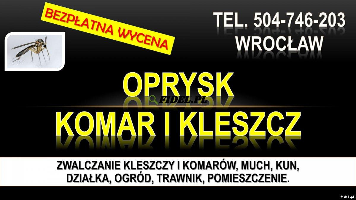 Opryski na komary, Wrocław, tel. 504-746-203. Zwalczanie komarów na działce