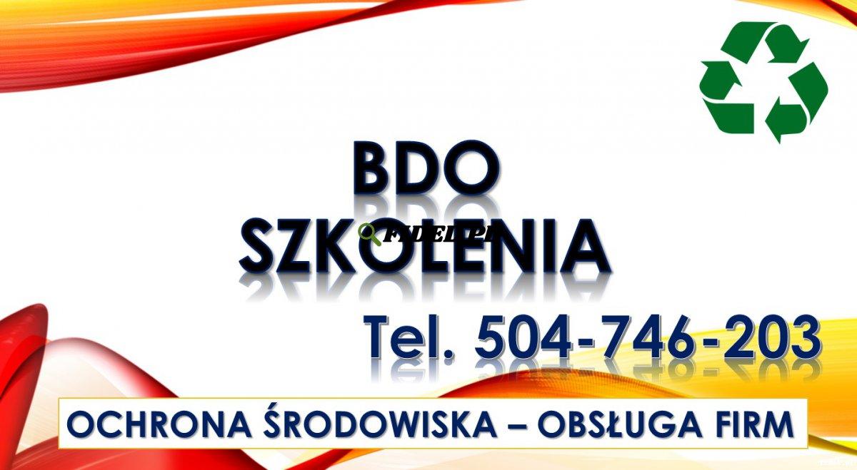Zgłoszenie firmy o BDO, cena tel. 504-746-203. Wpisanie zakładu, rejestracja, pomoc
