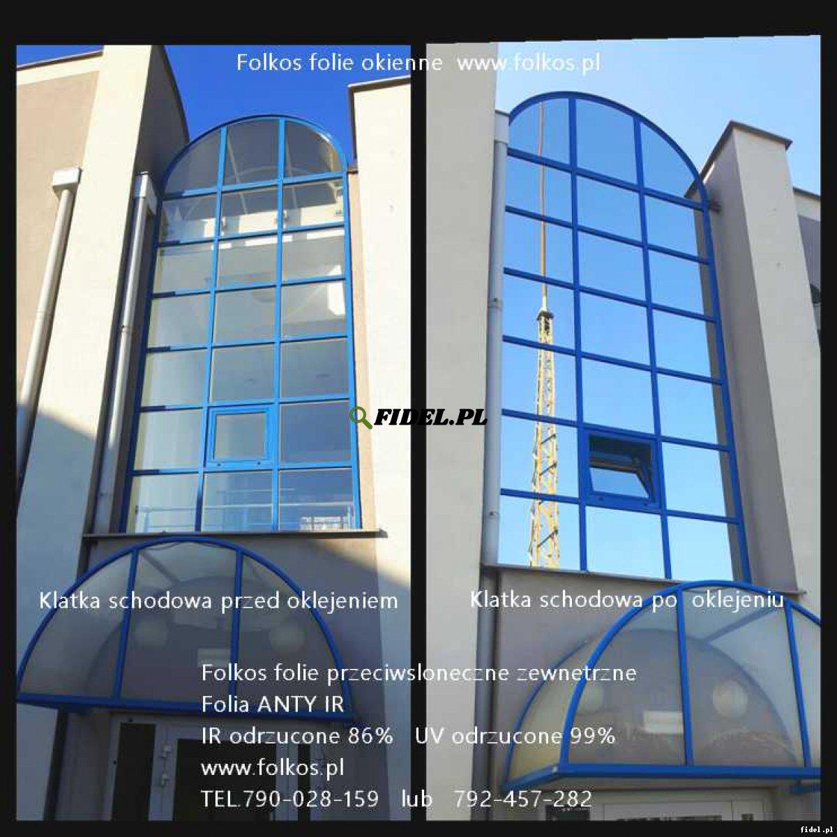 Folie przeciwsłoneczne Ursynów- Wilanów -przyciemnianie szyb -Folie zewnętrzne ANTY UV, ANTY IR, redukcja rażenia słonecznego do 100%