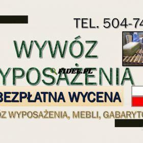 Wywóz mebli, Wrocław, tel. 504-746-203, utylizacja,starych,mebli. Wywóz odpadów gabarytowych z wyniesieniem z domu, mieszkania. Odbiór