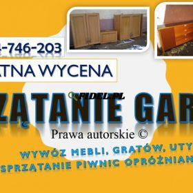 Sprzątanie piwnicy, cennik, usługi. tel. 504-746-203, Wrocław, oczyszczenie.wywóz gratów, dezynfekcja. Wywózka zbędnego wyposażenia.Likwidacja piwnicy