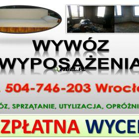 Odbiór używanych mebli tel. 504-746-203, starych mebli, utylizacja cennik. Odbiór mebli z mieszkań, wersalki, sofy, kompletu wypoczynkowego, tapczanu