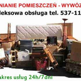 Przeprowadzki, Transport, Przewóz Rzeczy - Warszawa