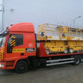 Transport traktorów, opryskiwaczy, przyczep Wielkopolska