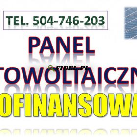 Panele słoneczne, cena montażu, tel. 504-746-203. Fotowoltaika,  koszt.. Wrocław, Legnica, Wałbrzych, Opole, Poznań, Łódź, Szczecin.