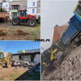 Rozbiórki rozbiórka budynków wyburzanie budynków wywóz gruzu