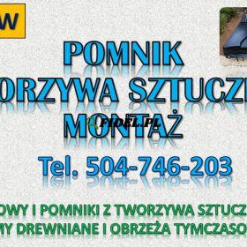 Obudowy grobu z tworzywa sztucznego tel. 504-746-203. Pomnik i nagrobek, Wrocław