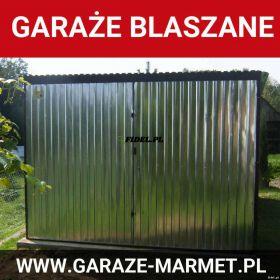 Garaże blaszane na wymiar, blaszaki - Producent Marmet