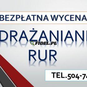 Przepychanie toalet, Wrocław, tel. 504-746-203. Udrażnianie zatkanej, rury, hydraulik