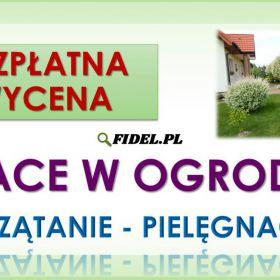 Porządkowanie działek, Wrocław. Tel. 504-746-203, sprzątanie ogródka działkowego, cennik.